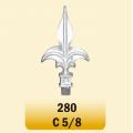ACCESORIO PARA VARILLA (LANZAS) COD. 280 C 5/8